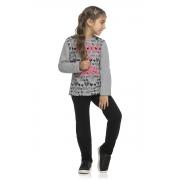 Conjunto Feminino Juvenil Blusa e Calça - ELIAN 251422