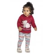 Conjunto Infantil Feminino Blusa e Legging - ELIAN 211124