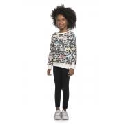 Conjunto Infantil Feminino Blusa e Legging - ELIAN 251408
