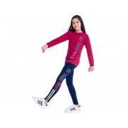 Conjunto Infantil Feminino Blusa e Legging Moving - KYLY 207261