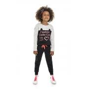 Conjunto Infantil Feminino Blusão e Legging - MARLAN 24653