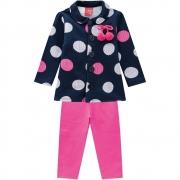 Conjunto Infantil Feminino Casaco E Legging - KYLY 207356