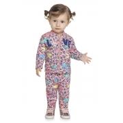 Conjunto Infantil Feminino Jaqueta e Calça - ELIAN 211133
