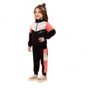 Conjunto Infantil Feminino Jaqueta e Calça - MARLAN 27130