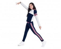 Conjunto Infantil Feminino Jaqueta e Calça Moving - KYLY 207266