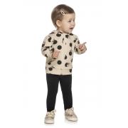 Conjunto Infantil Feminino Jaqueta e Lagging - ELIAN 211134