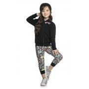 Conjunto Infantil Feminino Jaqueta e Legging - ELIAN 251412