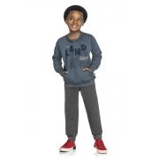 Conjunto Infantil Masculino Blusão e Calça - ELIAN 241036