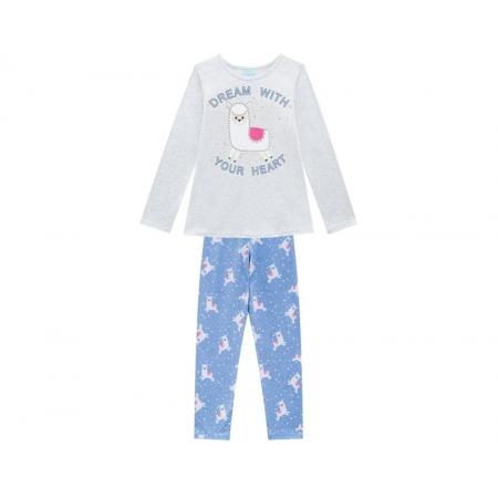 Pijama Infantil Feminino Blusa e Calça - KYLY 207242