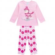 Pijama Infantil Feminino Blusa E Calça - KYLY 207520