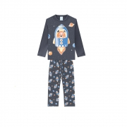 Pijama Infantil Masculino Camiseta E Calça - KYLY 207541