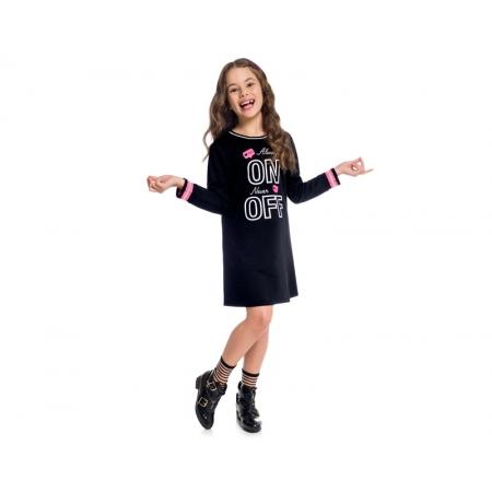 Vestido Infantil Kyly Moletinho - KYLY 207153