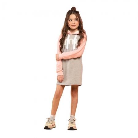 Vestido Infantil Moletom - MARLAN 29402
