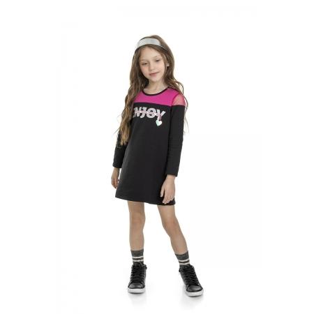 Vestido Molecotton Infantil - MARLAN 24666