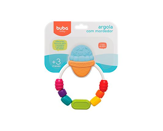 ARGOLA COM MORDEDOR - BUBA 09729