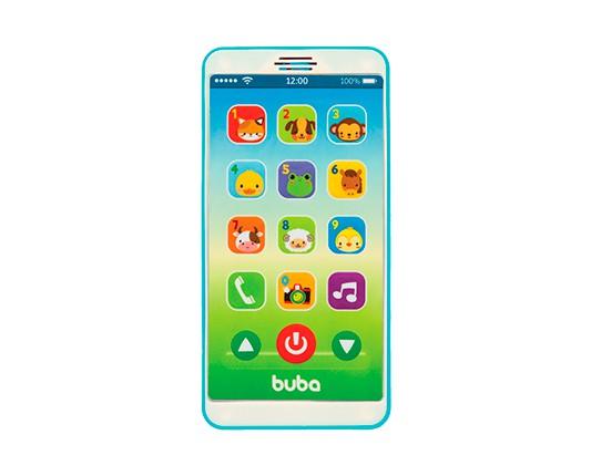 BABY PHONE AZUL - BUBA 6841