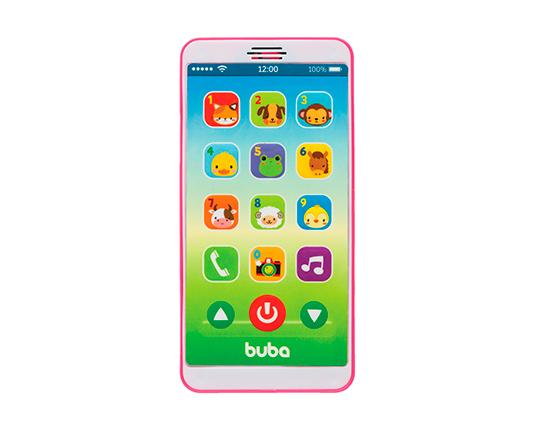 BABY PHONE ROSA - BUBA 6842
