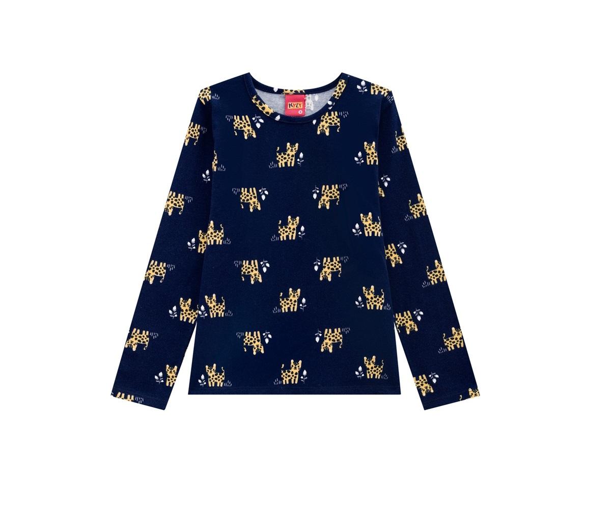 Blusa Infantil Feminina Cotton KYLY 205595