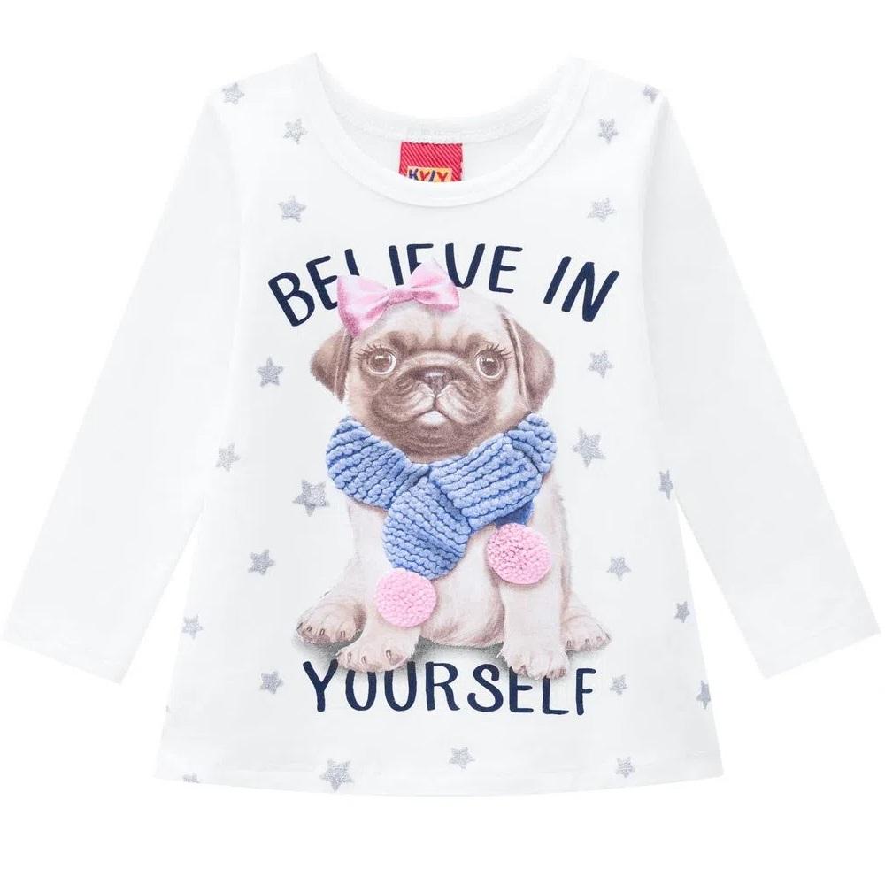 Blusa Infantil Feminina Cotton - KYLY 207332