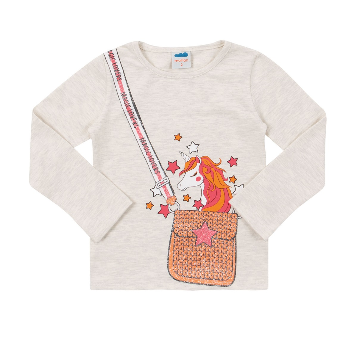 Blusa Infantil Feminina Cotton  - MARLAN 22566