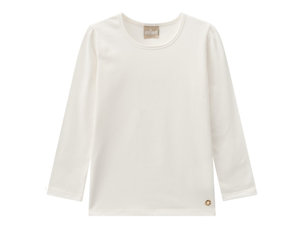 Blusa Infantil Feminina Cotton - MILON 7394