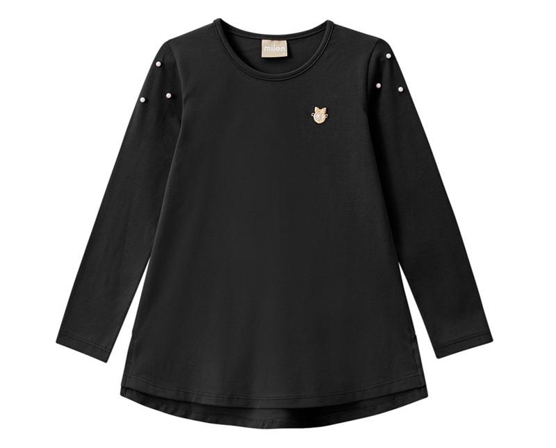Blusa Infantil Feminina Milon Cotton - MILON 11490