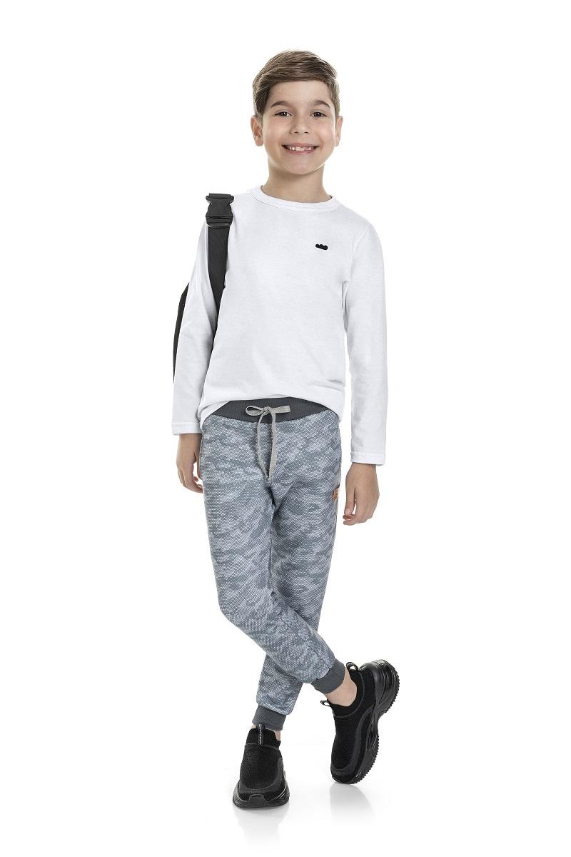 Calça Moletom Infantil Masculina - MARLAN 24704