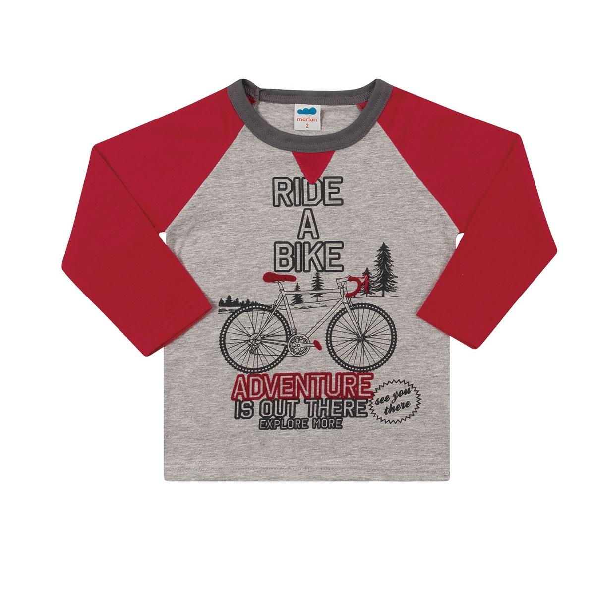 Camiseta Infantil Masculina - MARLAN 22598