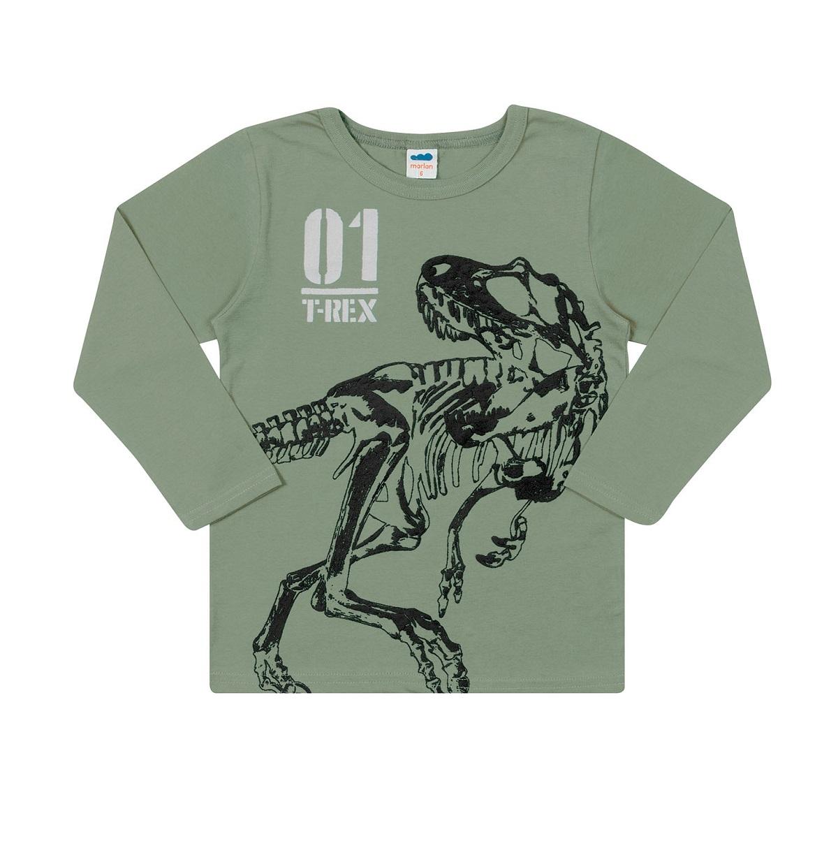 Camiseta Infantil Masculina - MARLAN 24683