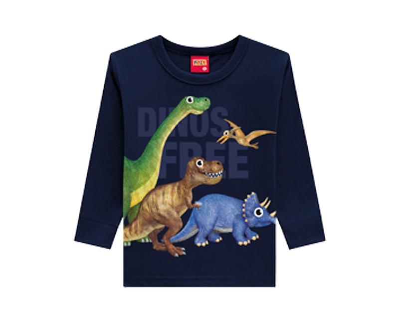 Camiseta Infantil Masculina Meia Malha - KYLY 207168