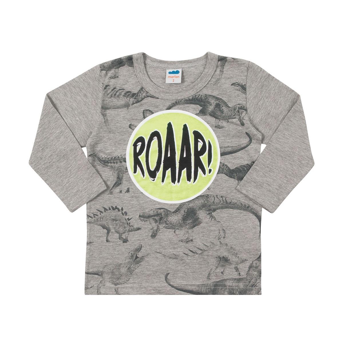Camiseta Infantil Masculina Meia Malha - MARLAN 22575