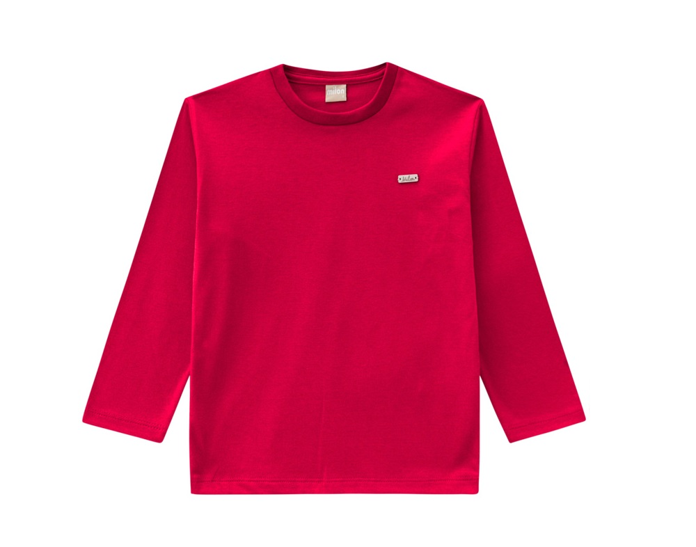 Camiseta Infantil Masculina  Meia Malha -  MILON 9036