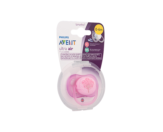 CHUPETA ULTRA AIR ARVORE 0-6M - PHILIPS AVENT SCF545/11