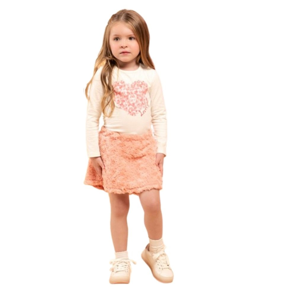 Conjunto Infantil Feminino Blusa e Saia - MARLAN 27120