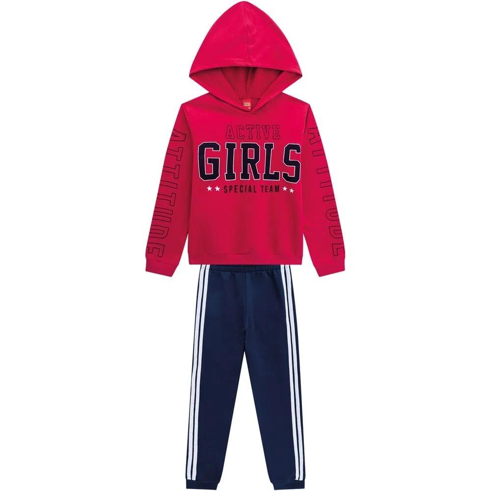 Conjunto Infantil Feminino Casaco E Calça - KYLY 207502