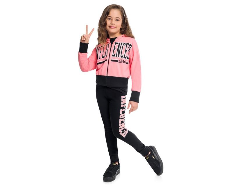 Conjunto Infantil Feminino Jaqueta e Calça - KYLY 207162