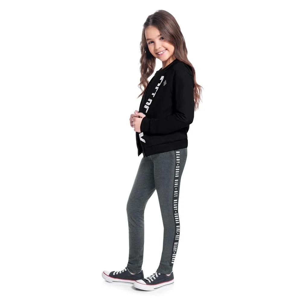 Conjunto Infantil Feminino Jaqueta E Calça - KYLY 207503