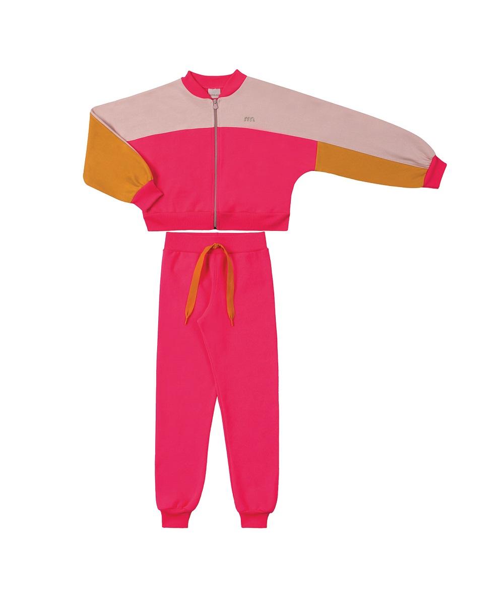 Conjunto Infantil Feminino Jaqueta e Calça - MARLAN 29412