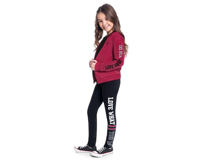Conjunto Infantil Feminino Jaqueta e Legging Moving - KYLY 207265