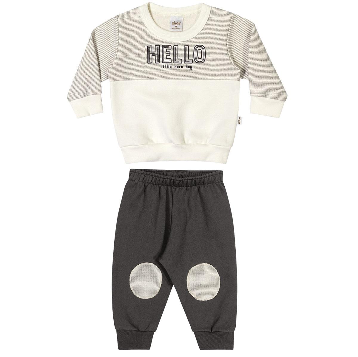 Conjunto Infantil Masculino Blusa e Calça - ELIAN 20925