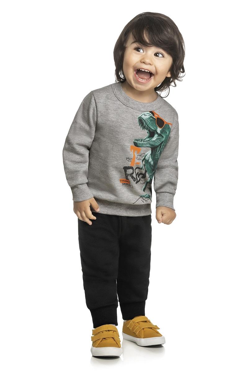 Conjunto Infantil Masculino Blusa e Calça - ELIAN 221108