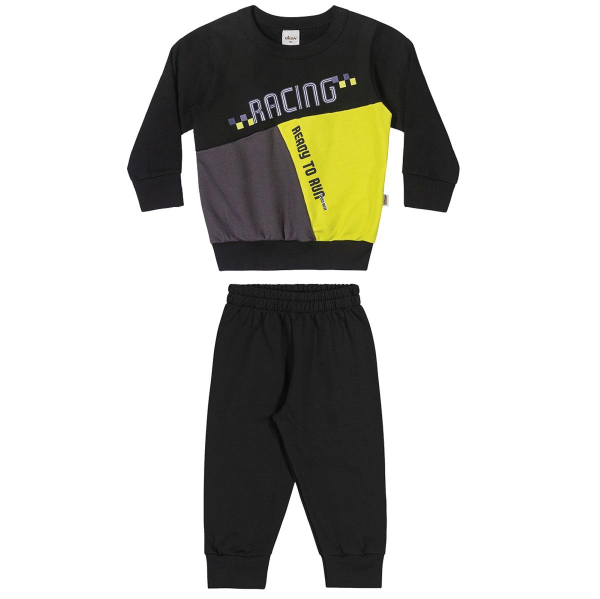 Conjunto Infantil Masculino Blusa e Calça - ELIAN 221109