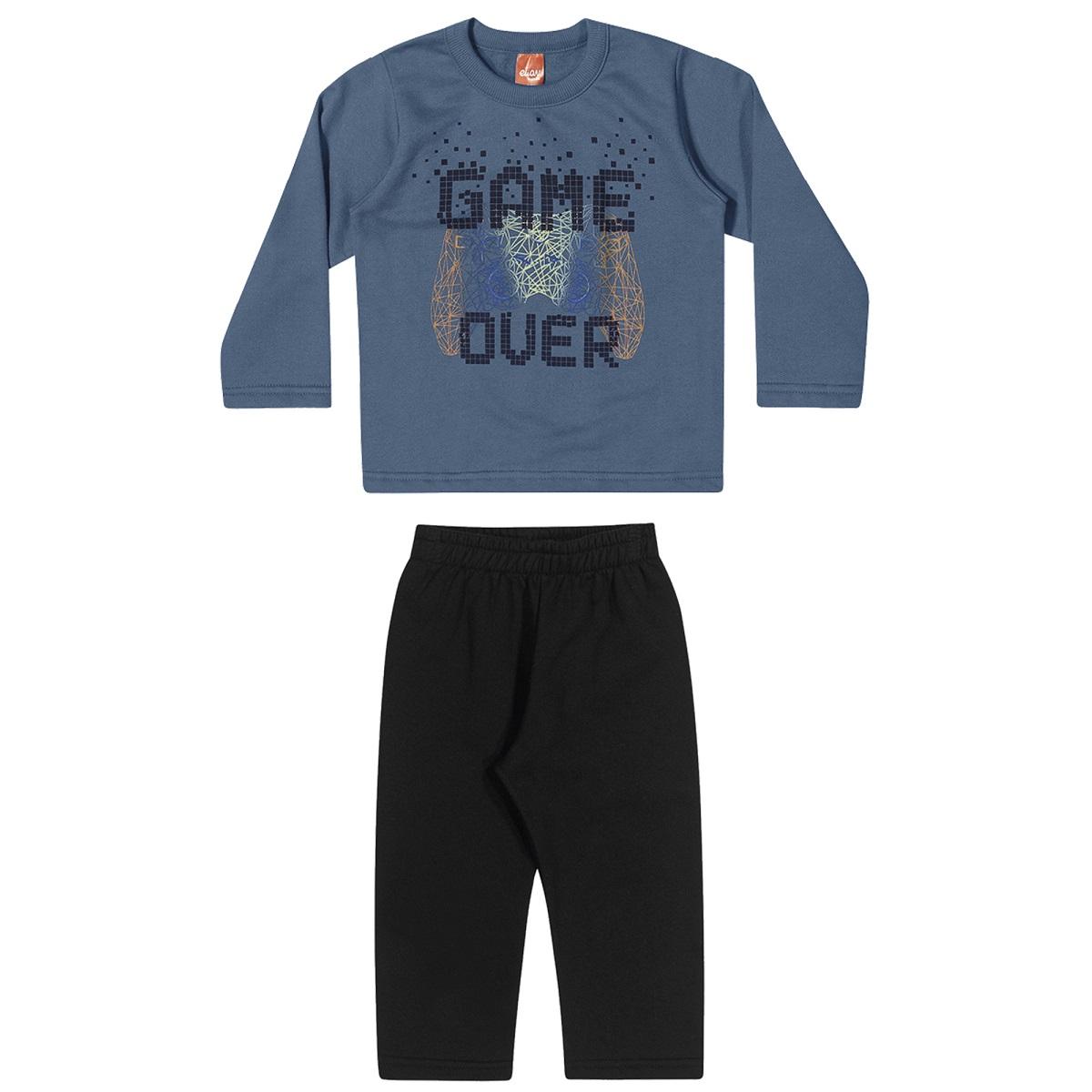 Conjunto Infantil Masculino Blusa e Calça - ELIAN 221124