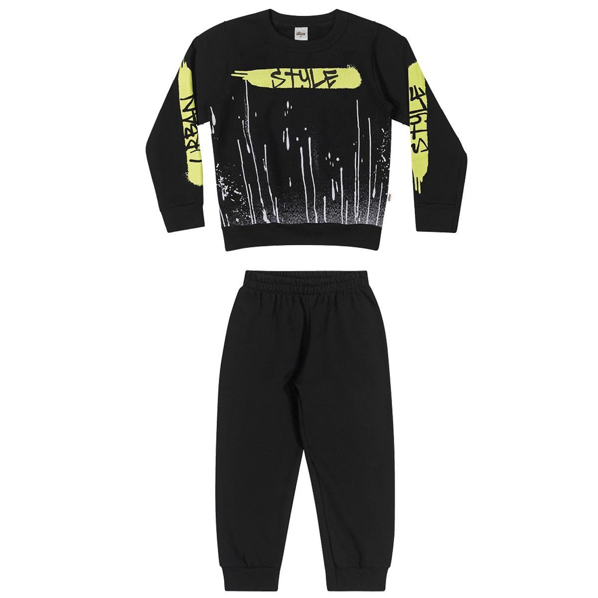 Conjunto Infantil Masculino Blusão e Calça - ELIAN 241033