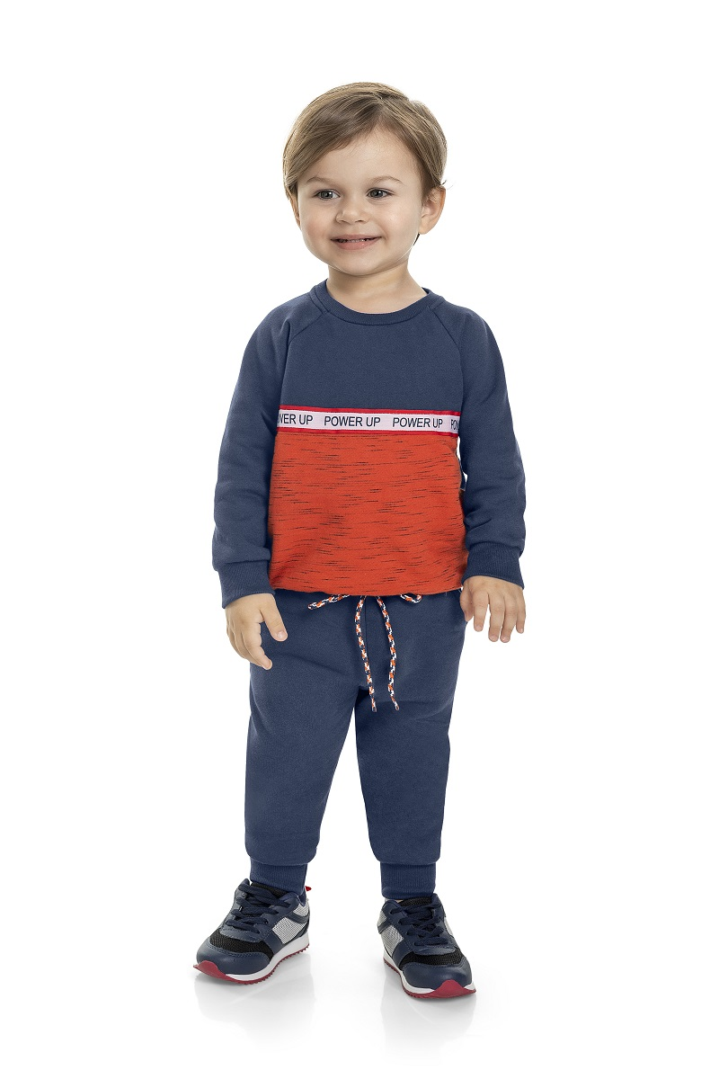 Conjunto Infantil Masculino Blusão e Calça - MARLAN 22590