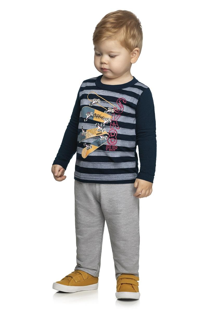 Conjunto Infantil Masculino Camiseta e Calça - ELIAN 221123
