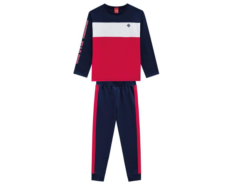 Conjunto Infantil Masculino Camiseta e Calça Moving - KYLY 207276