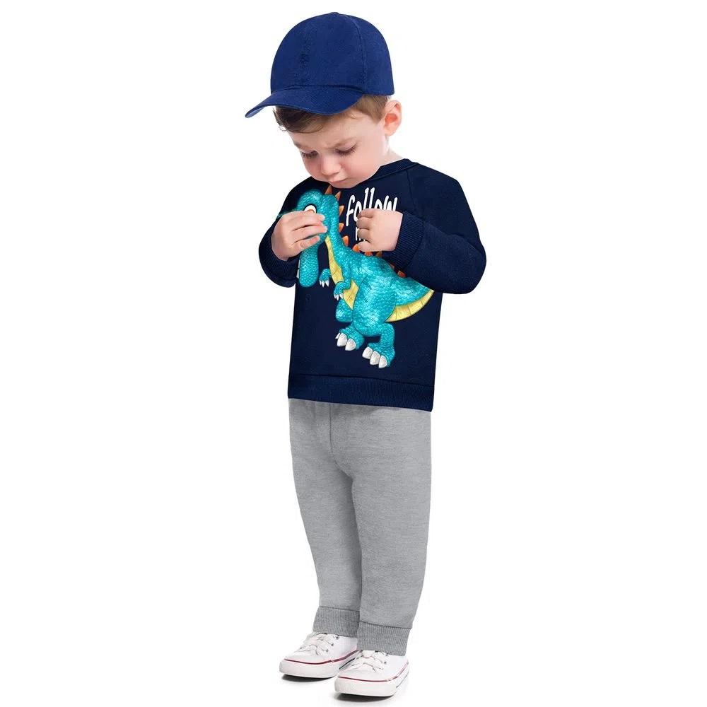 Conjunto Infantil Masculino Casaco E Calça - KYLY 207443