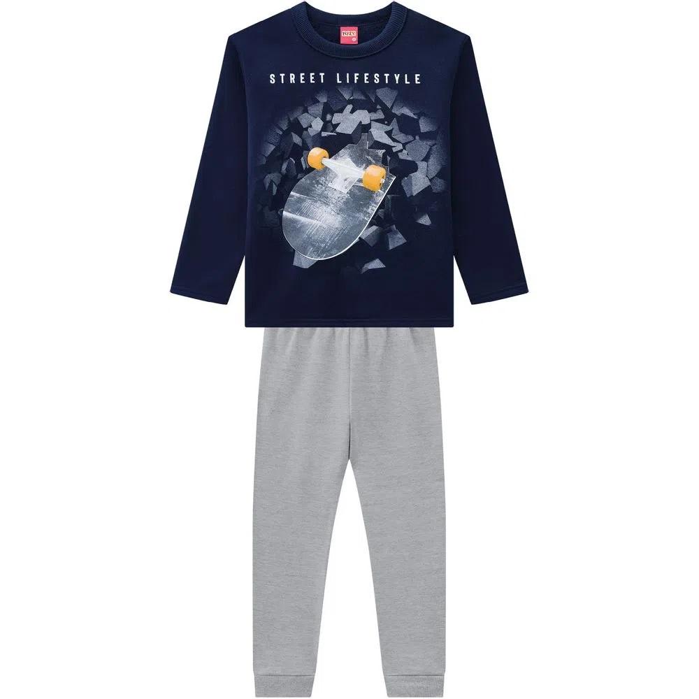 Conjunto Infantil Masculino Casaco E Calça - KYLY 207490