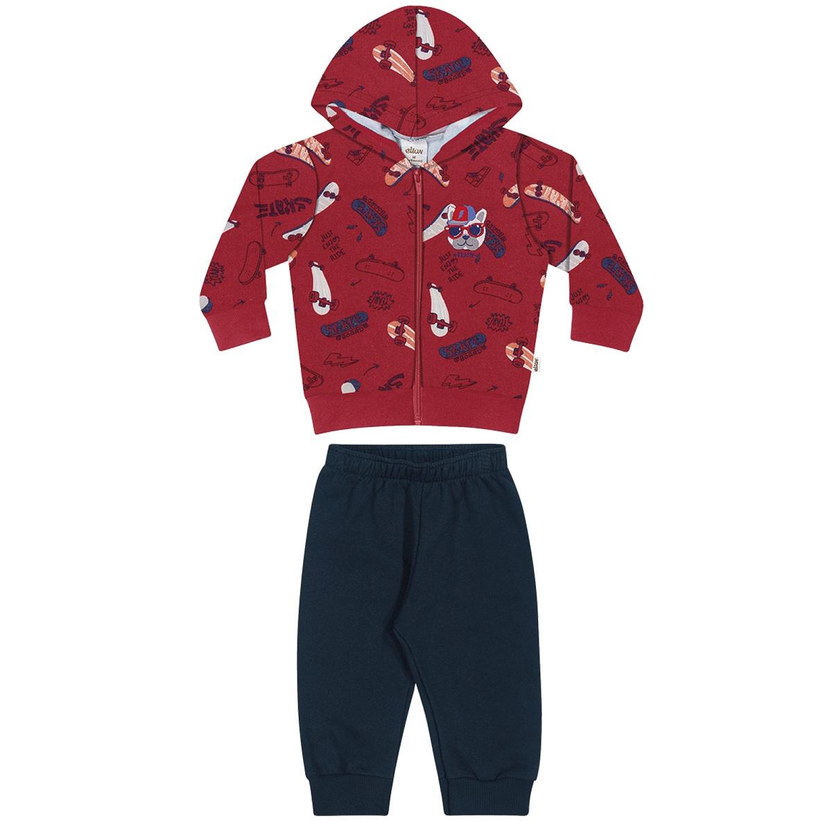 Conjunto Infantil Masculino Jaqueta e Calça - ELIAN 20929